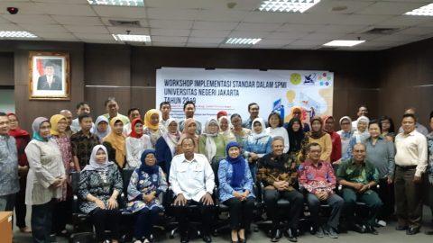 Workshop Implementasi Standar SPMI Universitas Negeri Jakarta 2019
