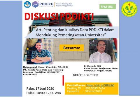 Arti Penting dan Kualitas Data PDDIKTI dalam Mendukung Pemeringkatan Universitas