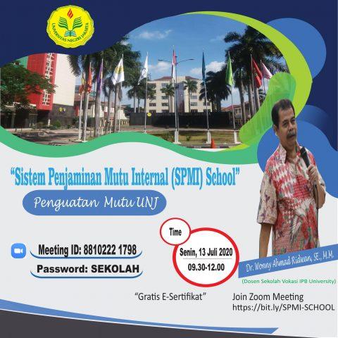 Sistem Penjaminan Mutu Internal (SPMI) School